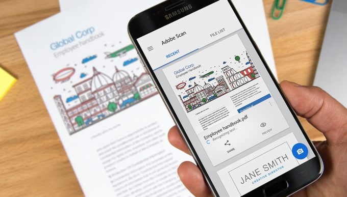 Adobe scan turns your documents receipts more into editable pdfs adobe scan doesnt just work with standard paper files its worth noting the company says you can also scan things like shopping receipts business cards colourmoves Choice Image