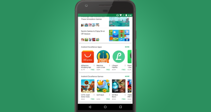 Google Play introduces 'Android Excellence' collections that