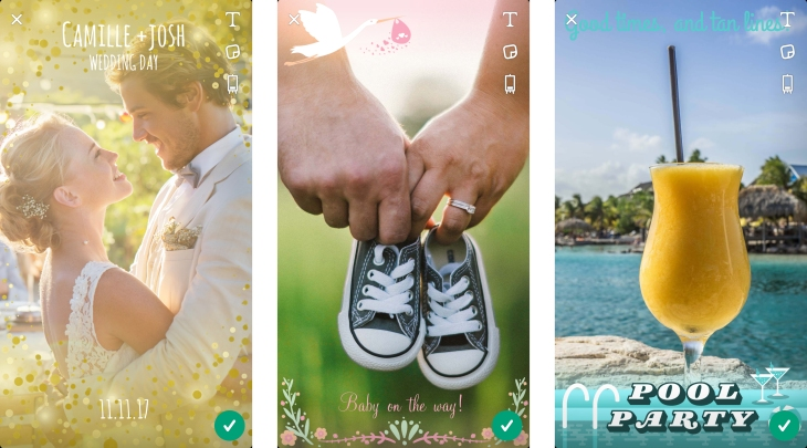 Snapchat now lets you create custom geofilters right in the