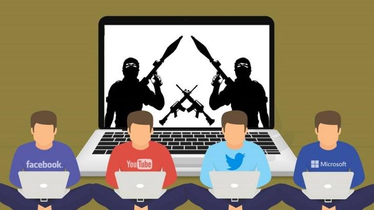 Image result for facebook terrorist content