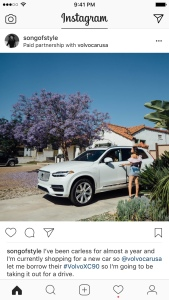 Aimee Song sponsored post