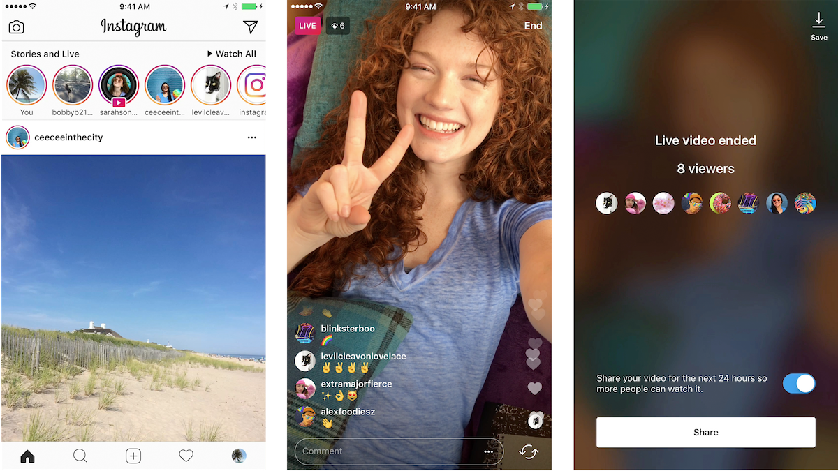 Instagram Stories Hits 250M Daily Users, Adds Live Video