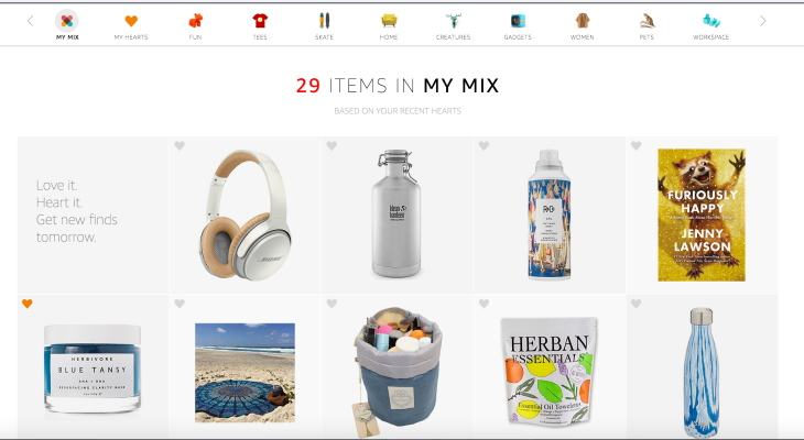 amazon launches my mix a personalized shop filled with your