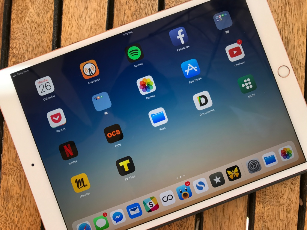 iOS 11 turns your iPad into a completely different machine | TechCrunch