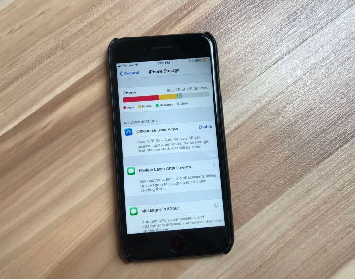 iOS 11 will help you free up storage on your iPhone through