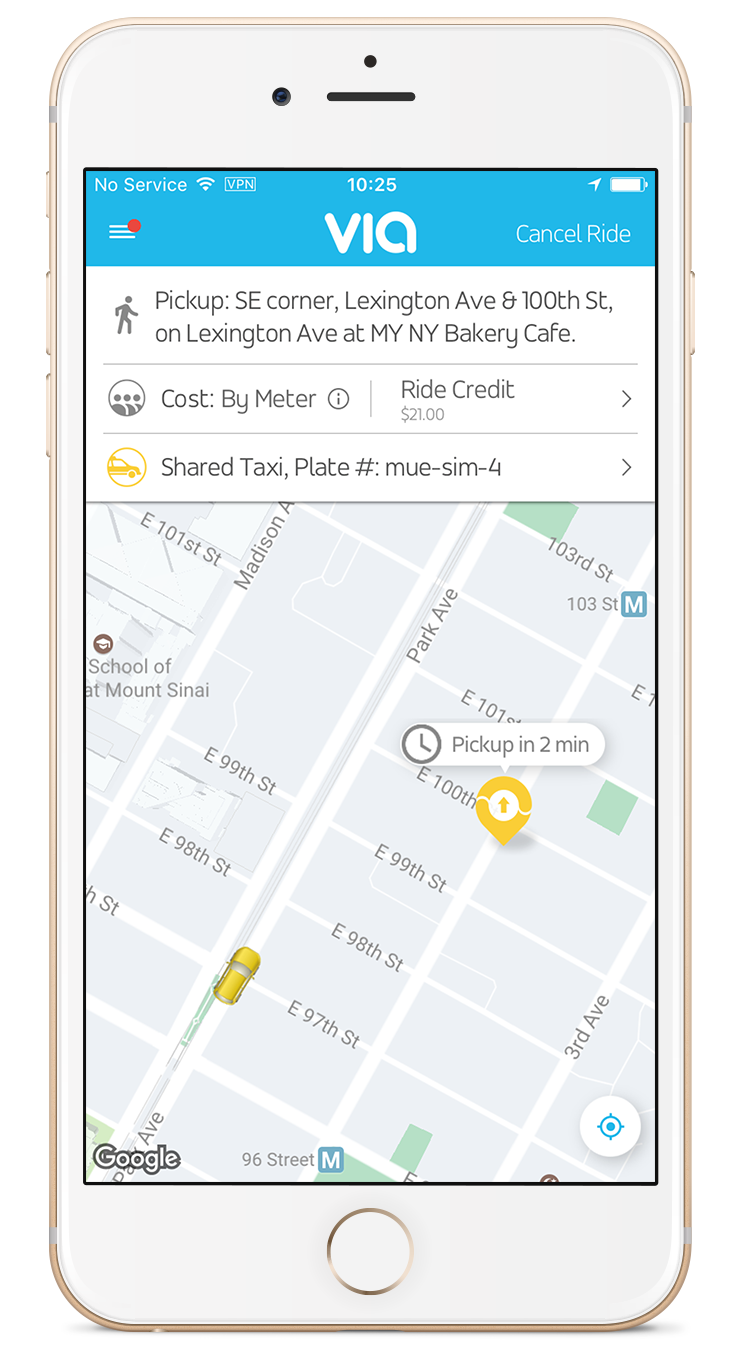 Curb and Via bring ride-sharing to NYC's Yellow Taxis