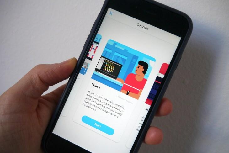 YC-backed Py is a Duolingo style learn-to-code app   TechCrunch