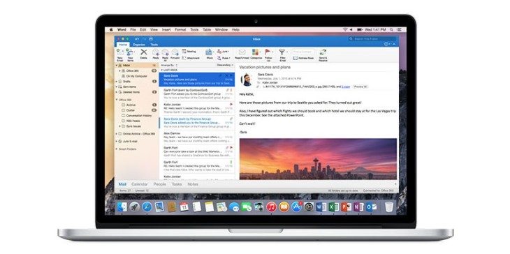 Outlook 2016 for Mac now lets you send emails later, track