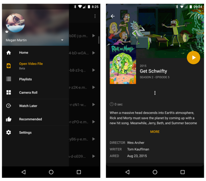 Plex can now play local video files on Android, no media