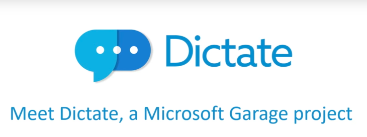 Microsoft's Dictate uses Cortana's speech recognition to