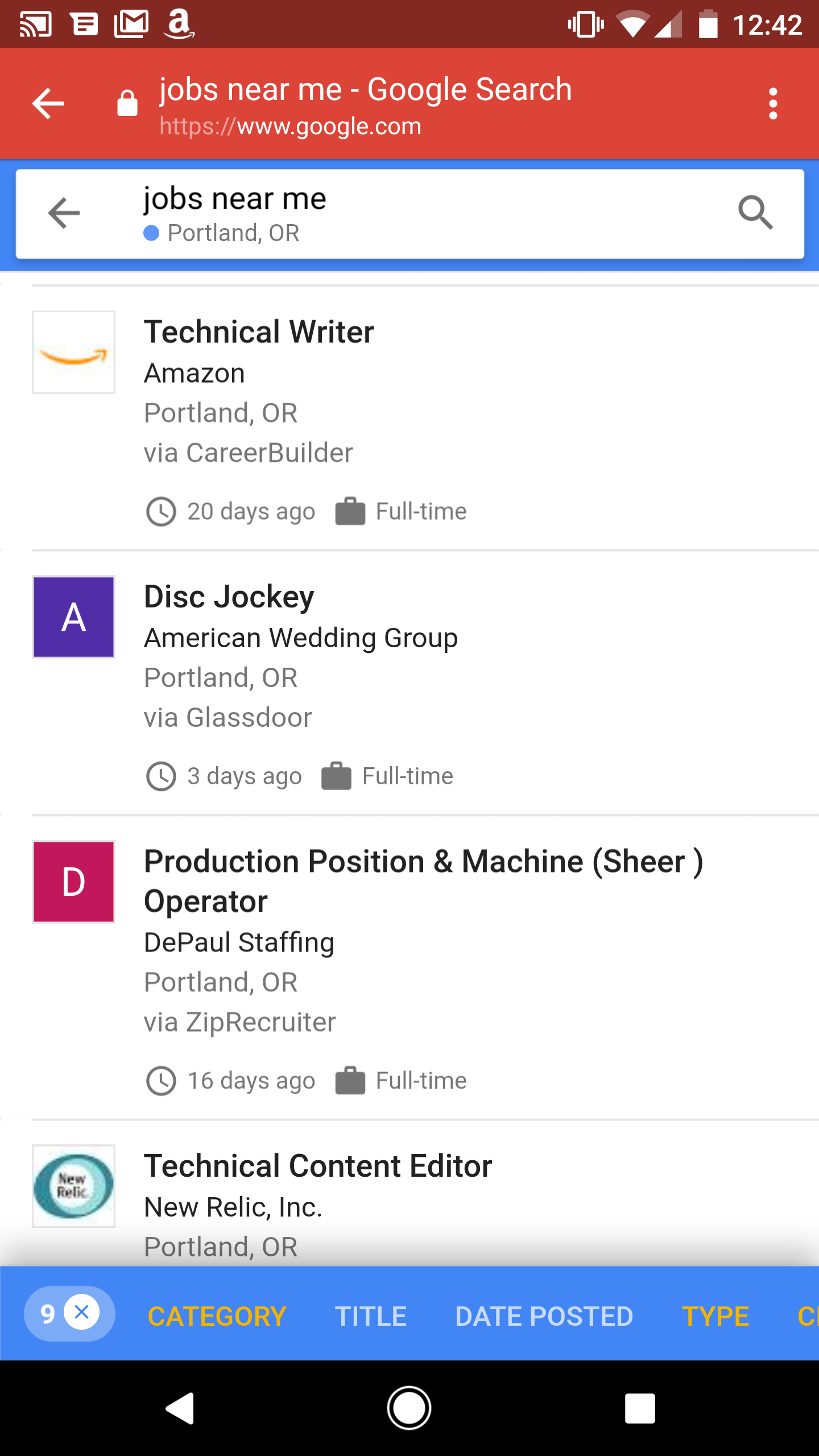 With This New Feature Is Now Available In English On Desktop And Mobile All You Have To Type In Is A Query Like Jobs Near Me Writing Jobs Or