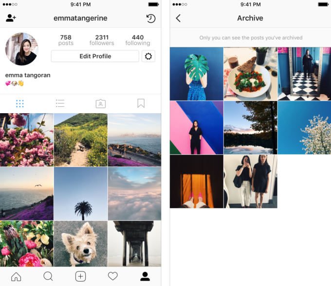 Instagram's archive feature goes live, letting you hide