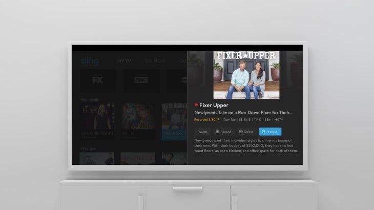 Sling Tv Rolls Out A Better Dvr With An Option To Protect Recordings