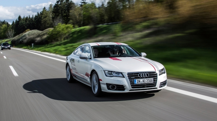 Audi Is The First To Test Autonomous Vehicles In New York TechCrunch - Audi driverless car
