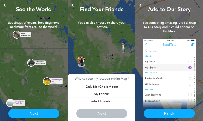 Snapchat launches location-sharing feature Snap Map | TechCrunch