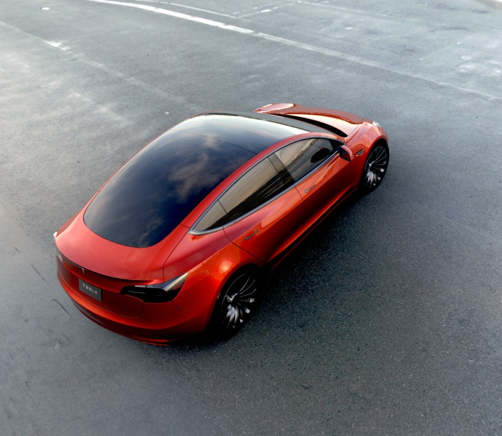 Tesla Model 3 Red 1 Customers Who Want The Full 7 500 Federal Tax Credit