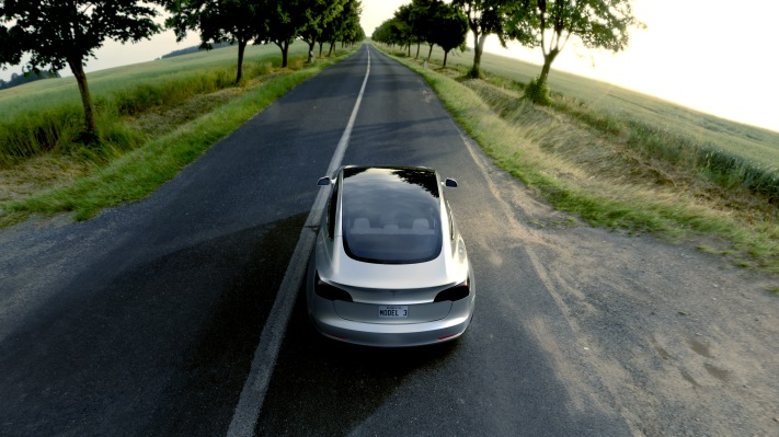 New registrations for electric vehicles doubled in U.S. since last year tesla model 3 silver 2