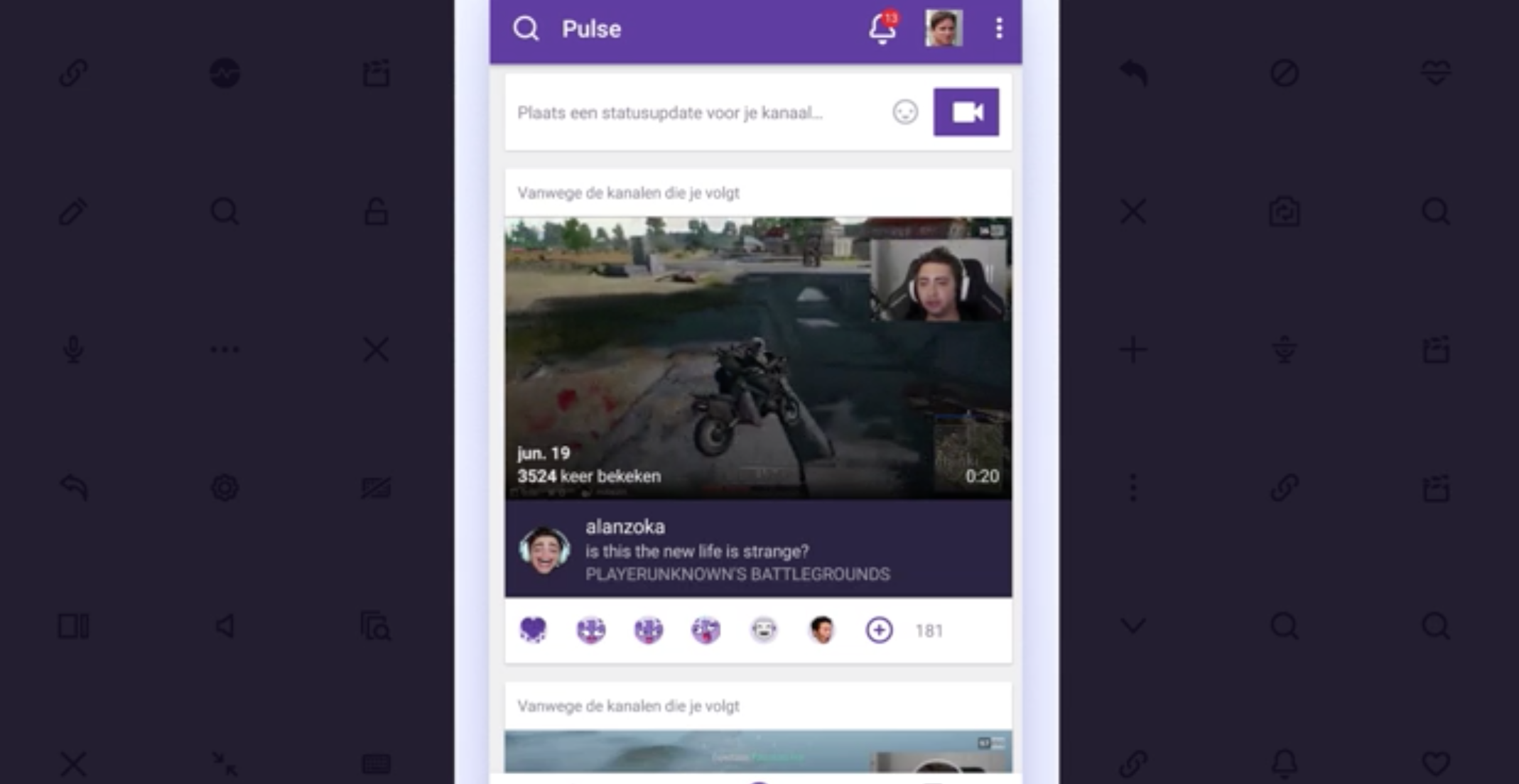Twitch's mobile app is adding live streaming, dark mode and more