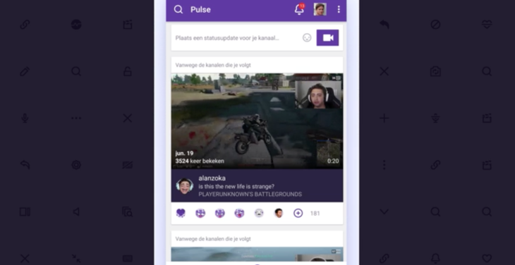 Twitch's mobile app is adding live streaming, dark mode and