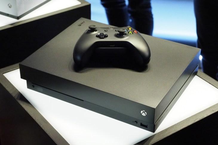 The Xbox One X Is Microsoft S Powerful New 4k Console Techcrunch