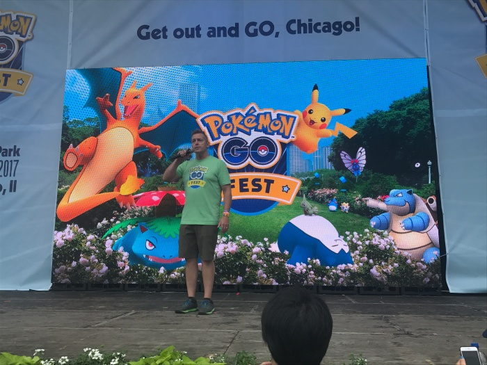 I went to Pokémon GO Fest to (try to) play the game with