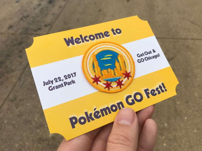 I went to Pokémon GO Fest to (try to) play the game with thousands