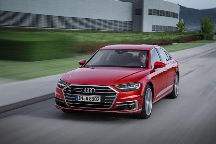 Audis New A Will Have Level Autonomy Via Traffic Jam Pilot - Audis