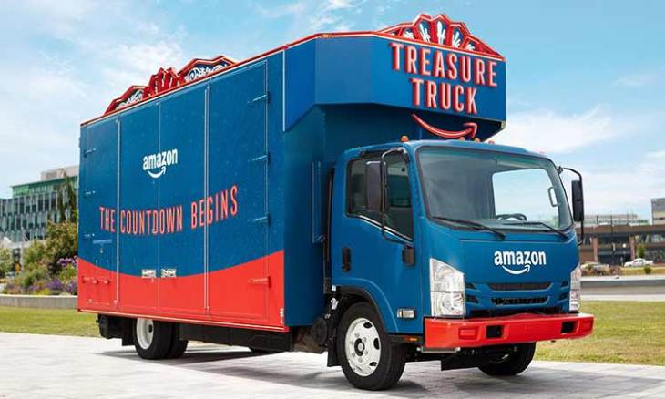 59ce448a7e18 Amazon said to launch delivery service to compete with UPS and FedEx ...
