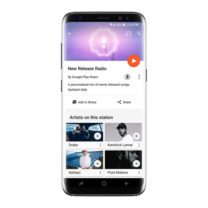 Google Play Music gets more personalized with New Release