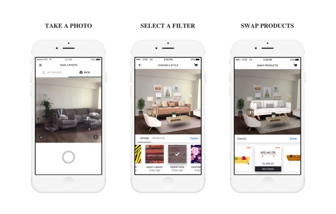 hutch the virtual interior design app has raised 10m from zillow techcrunch. Black Bedroom Furniture Sets. Home Design Ideas