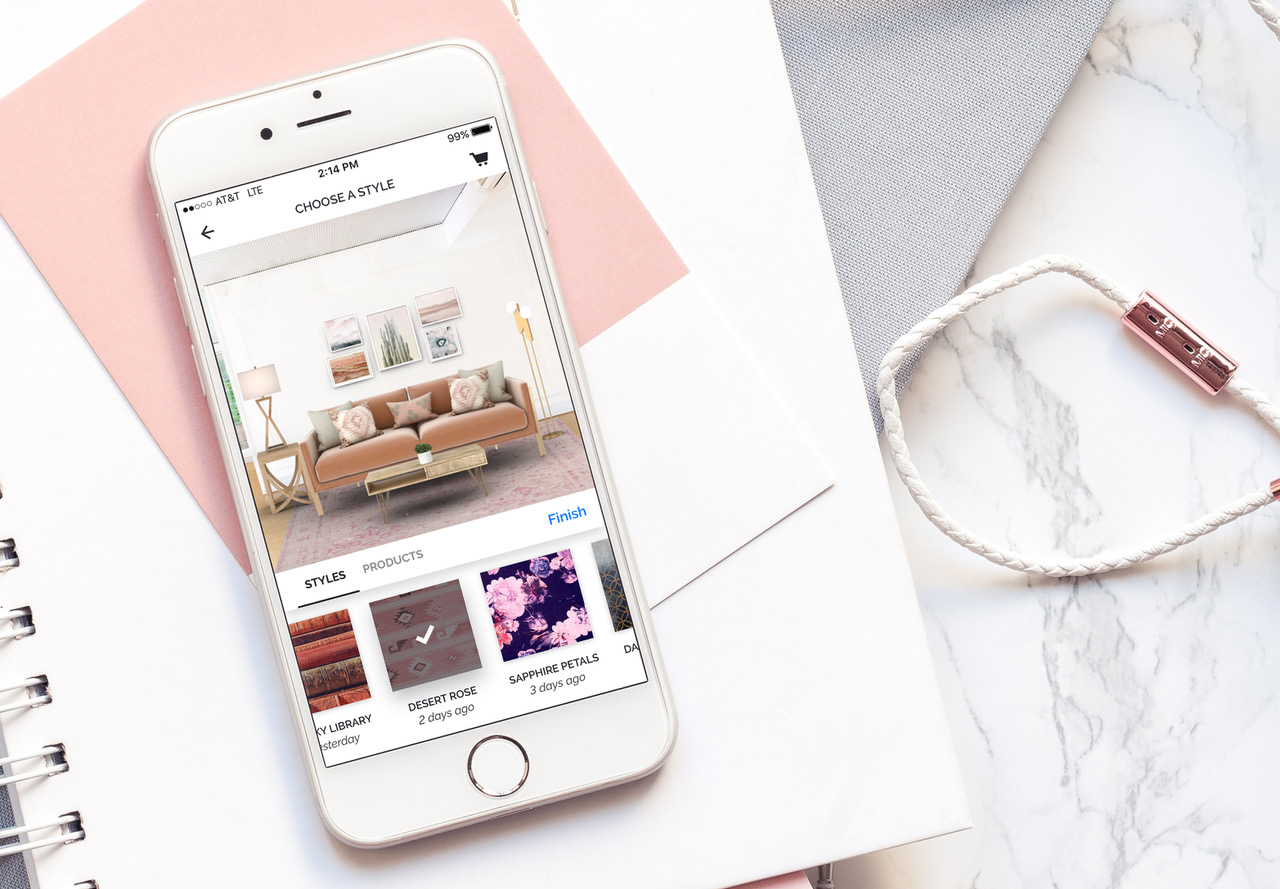 Hutch, The Interior Design App That Takes A Photo Of Your Room And  Virtually Redecorates It, Has Raised $10 Million In Funding From Real  Estate Platform ...