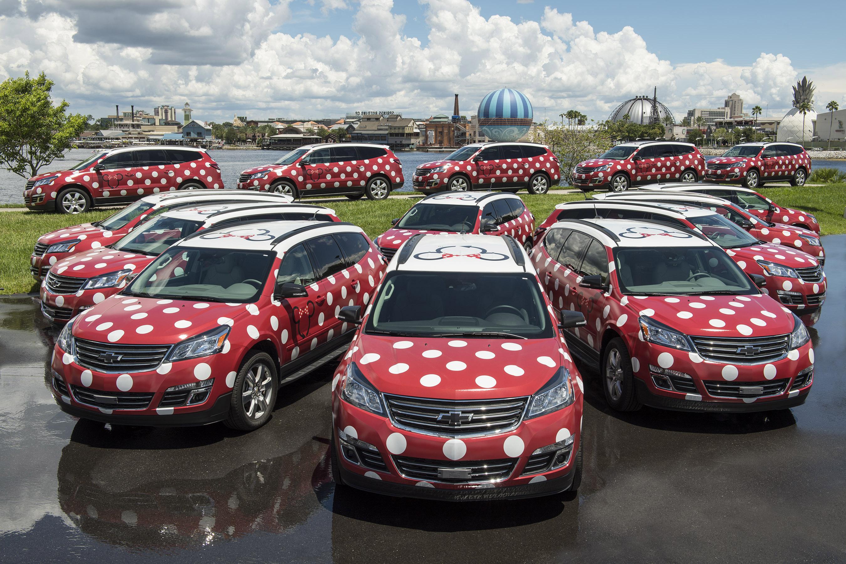 Lyft and Disney launch 'Minnie Van' on