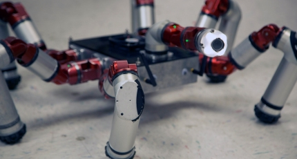 How Carnegie Mellon's snake robot became the multi-legged