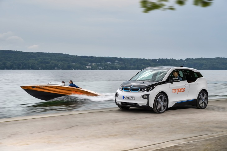 Bmw S I3 Battery Now Being Used For Torqeedo S Electric Boat Motors