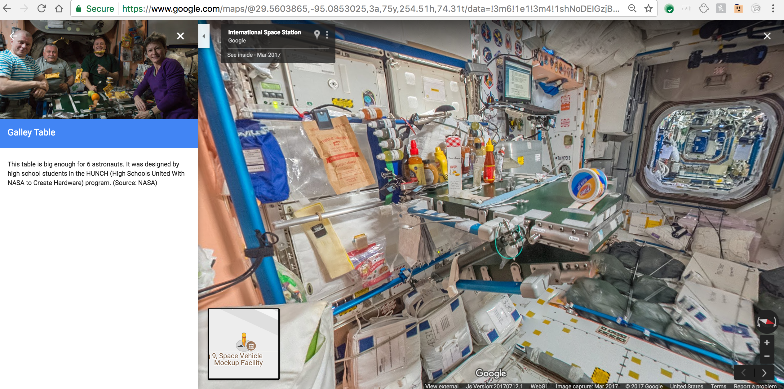 Google street view now lets you explore the international space as with all street view launches though its all about clicking through the imagery yourself so head over to google maps and give it a try gumiabroncs Choice Image