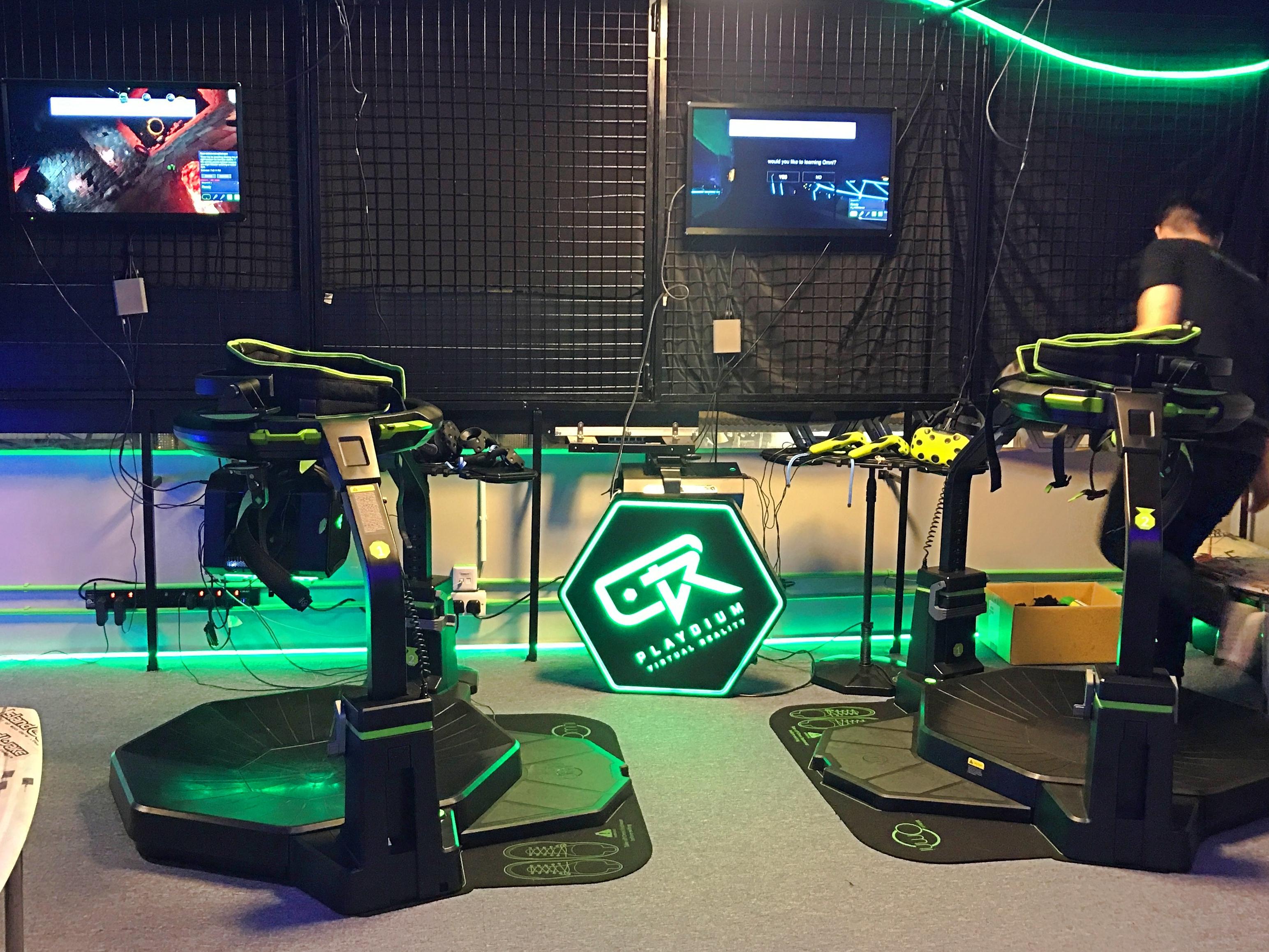 We went gaming at a VR arcade in Hong Kong   TechCrunch
