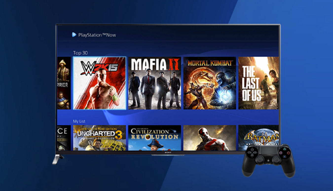 Sony's Playstation Now streaming service now includes PS4