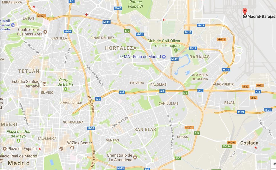 Uber faces unfair competition probe over Madrid airport service