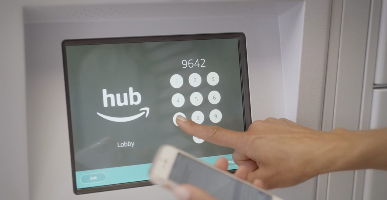 Amazon launches 'The Hub', parcel delivery lockers for
