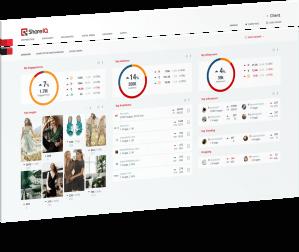 ShareIQ dashboard