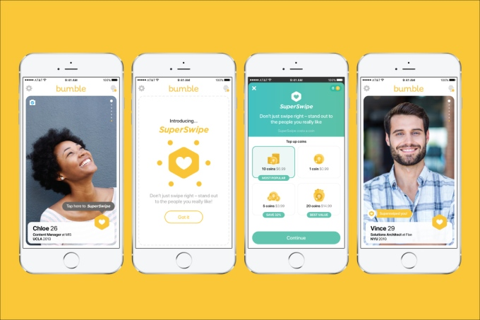 Bumble's SuperSwipe lets you show interest before someone