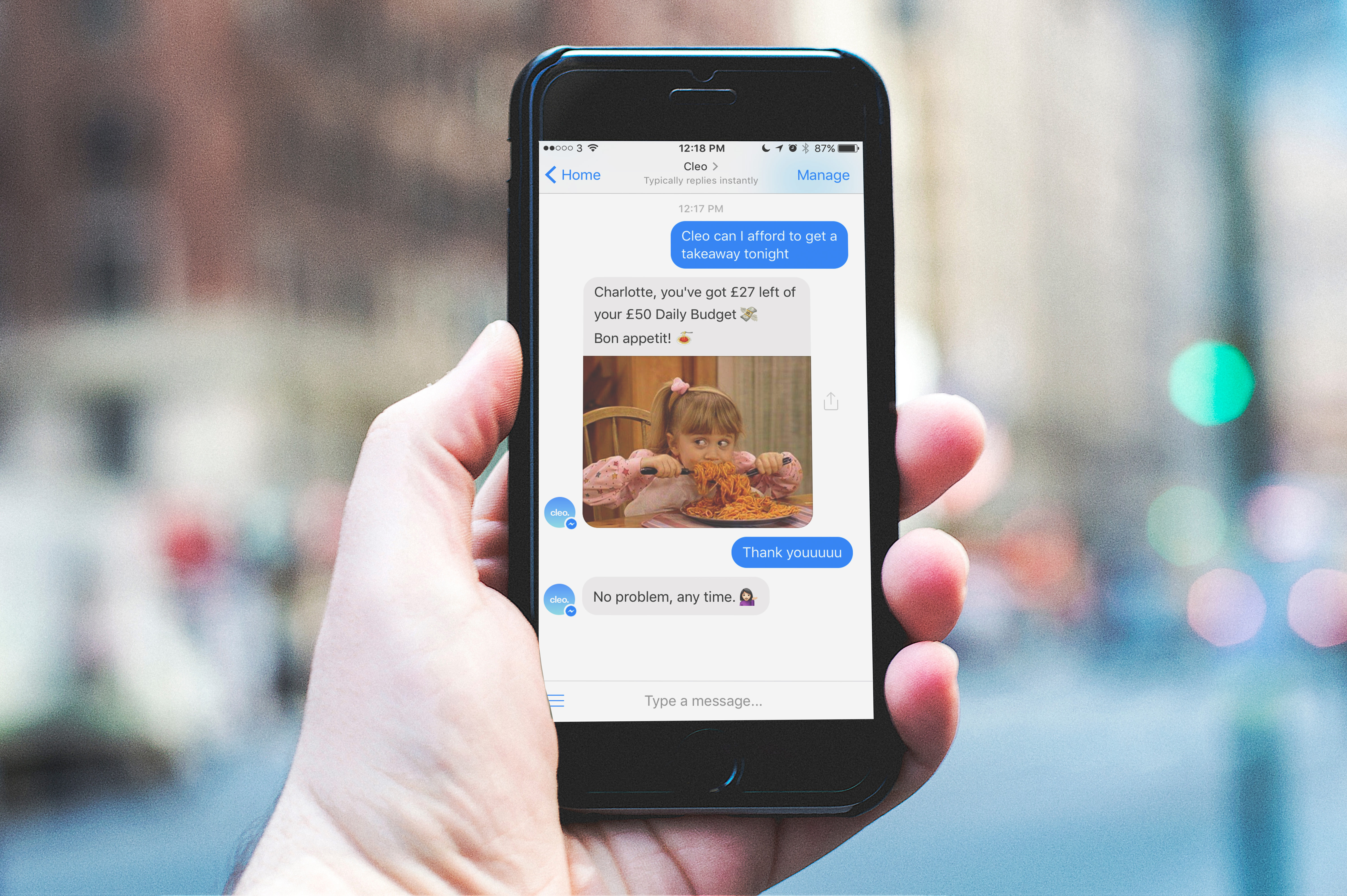 Cleo, a chatbot that wants to replace your banking apps
