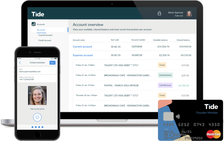 UK's Tide raises $14M to challenge big banks with a mobile