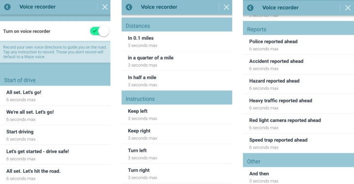 Waze now lets iOS users record their own custom voice