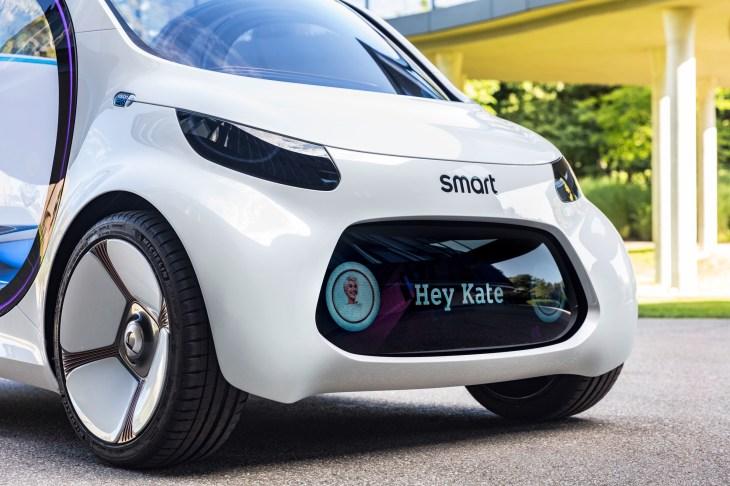 f825e1914 Autonomes Konzeptfahrzeug smart vision EQ fortwo: So sieht das Carsharing  der Zukunft aus