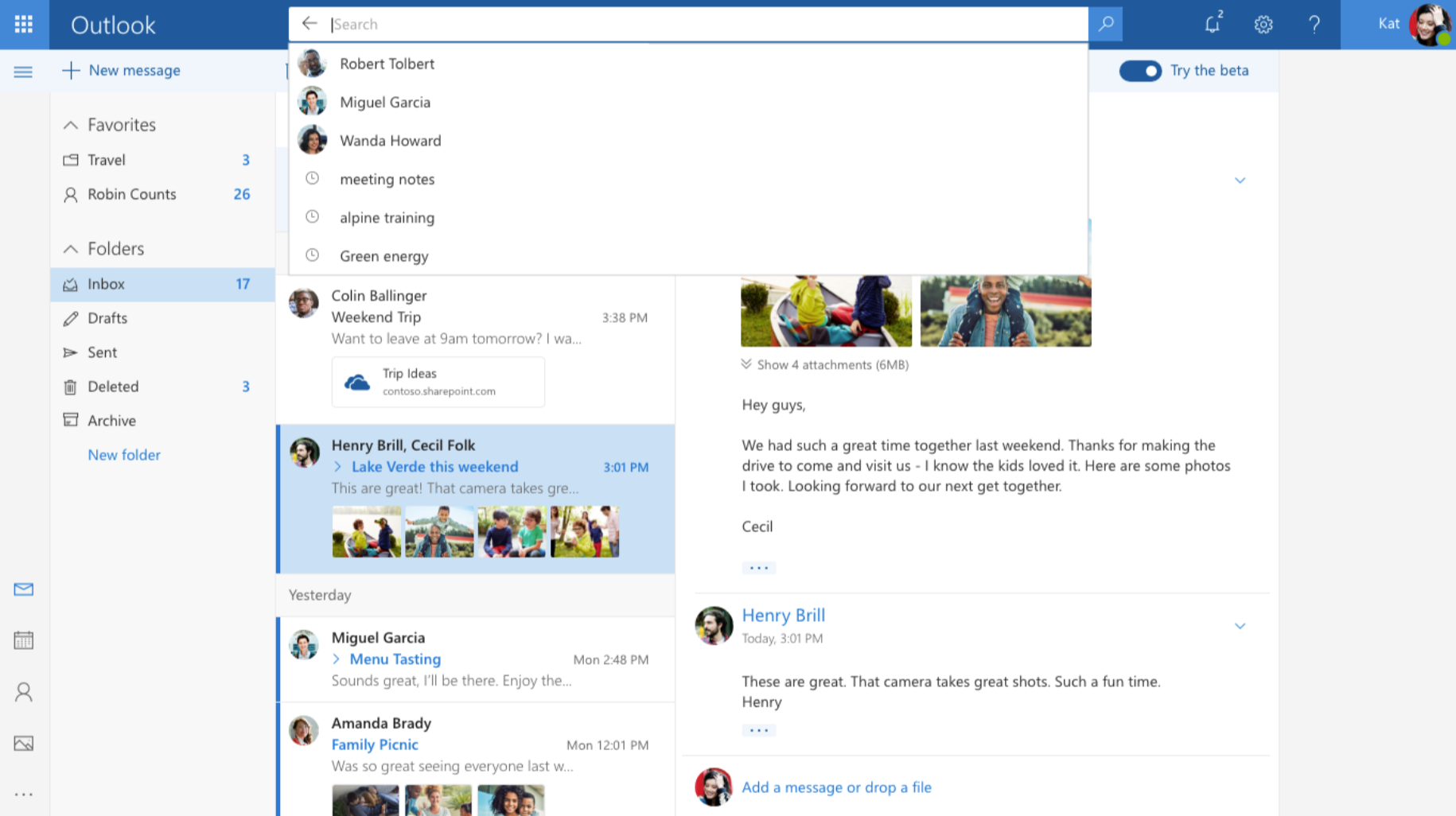 Microsoft launches a faster, smarter Outlook com into public