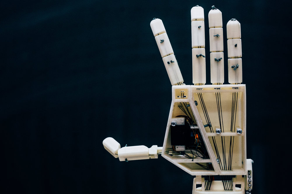 picture about 3d Printable Robot identify This 3D-revealed robot arm is manufactured for indicator language