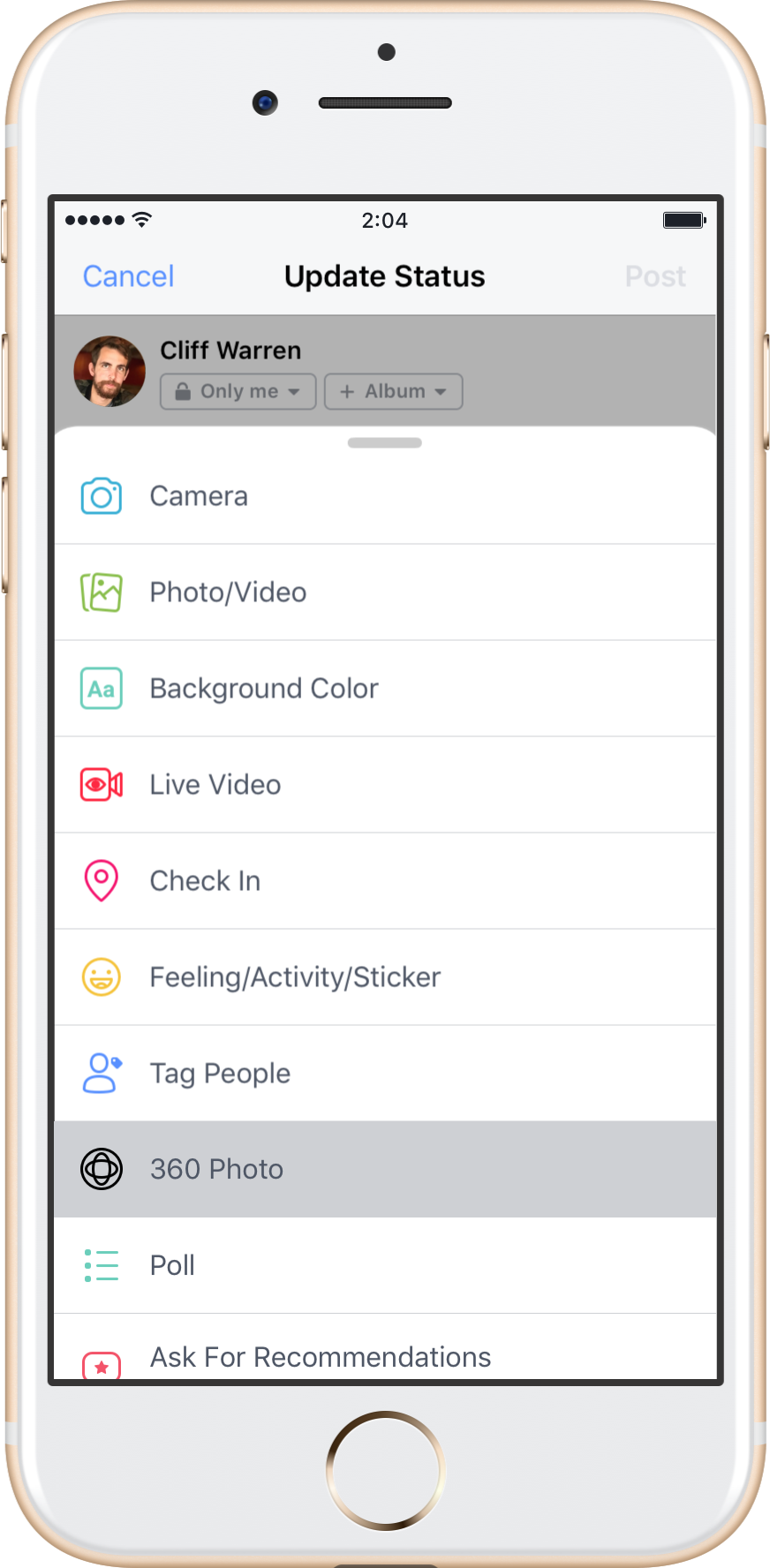 Facebook Now Lets You Take 360 Photos In App Use Them As Cover Photos Techcrunch