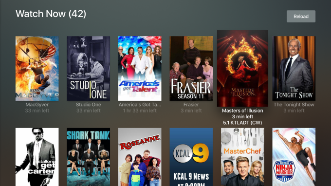 Plex brings its Live TV streaming service to Apple TV and Android