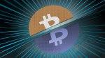 bitcoin splitting in two